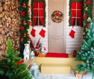украшения рождества различные Стоковое Изображение RF