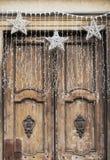 Украшения рождества с звездами Стоковое Изображение RF