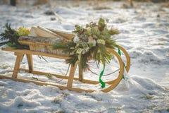 Украшения свадьбы Стоковые Изображения
