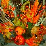 Украшения тыкв хеллоуина Стоковые Фото