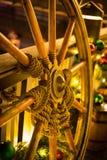 Украшения улицы рождества стоковая фотография rf