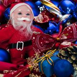 украшения santa claus рождества Стоковое Изображение