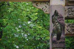 Украшенная арка (старые здания) SYSU Гуанчжоу Стоковые Фото