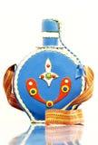 украшенная бутылка Стоковые Изображения RF