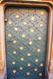 украшенная дверь Стоковое Изображение