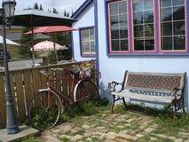 украшенная внешняя витрина магазина наследия Стоковая Фотография RF
