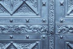 украшенная дверь стоковые изображения