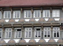 украшенная дом фасада старая стоковые фото