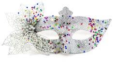 Украшенная маска масленицы Стоковые Фотографии RF