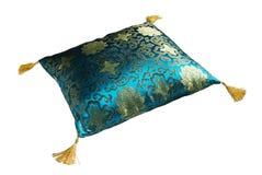 украшенная подушка Стоковая Фотография