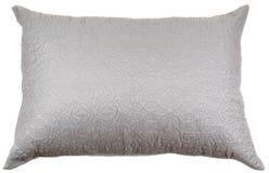 Украшенная подушка изолированная на белизне Стоковая Фотография