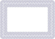 украшенная рамка Стоковое Фото