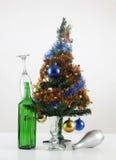 Украшенная рождественская елка Стоковые Изображения RF