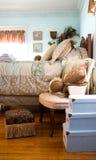 украшенная спальня Стоковое Изображение RF