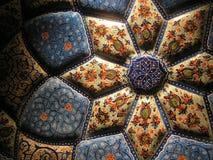украшенная старая плита Стоковые Изображения RF
