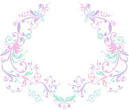 украшенная шея Стоковое Изображение RF