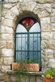 украшенное окно Стоковая Фотография RF