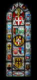 украшенное окно Стоковое Фото