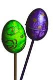 украшенное пасхальное яйцо Стоковые Изображения