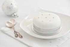 украшенное рождество торта Стоковая Фотография RF