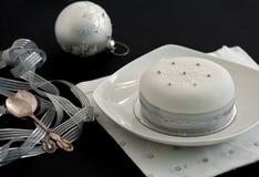 украшенное рождество торта Стоковое Изображение