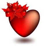 украшенное сердце Стоковое Фото