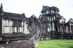Украшенное Angkor Wat Стоковая Фотография RF