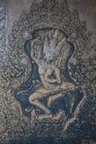 Украшенное Angkor Wat Стоковое Изображение