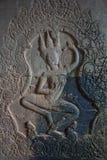 Украшенное Angkor Wat Стоковое фото RF