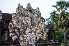 Украшенное Angkor Wat Стоковые Фотографии RF