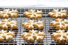 украшенные печенья рождества Стоковое Изображение RF