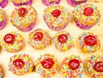 украшенные пирожня Стоковые Изображения