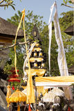 Украшенный индусский висок, Nusa Penida, Индонезия стоковое фото rf