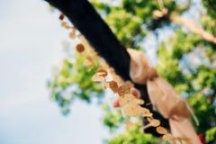 Украшенный лес качания весной Стоковое фото RF