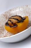 украшенный персик Стоковое Изображение
