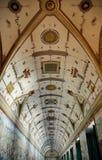 украшенный потолок Стоковое Изображение