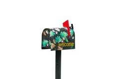 украшенный почтовый ящик Стоковое Изображение