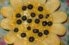 украшенный салат Стоковые Фотографии RF
