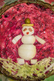 украшенный салат Стоковые Фото