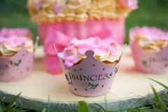 украшенный торт Стоковое Фото