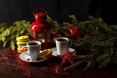 Украшенный для печений пряника рождества, рождество bumps CH Стоковая Фотография