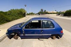 Украденный автомобиль Стоковое Изображение
