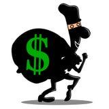 Украдите siluet денег бесплатная иллюстрация