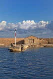 укрепленная гаван venetian стена Стоковые Фотографии RF