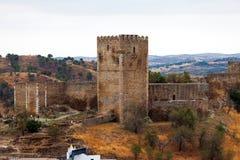 Укрепленная каменная башня Стоковая Фотография RF