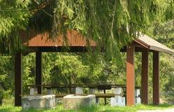 укрытие парка стоковое фото rf