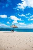 Укрытие пляжа Стоковые Изображения