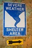 Укрытие строгой погоды Стоковое Фото