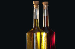 уксус оливки масла Стоковое Фото