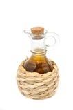 уксус сидра бутылки яблока Стоковое фото RF